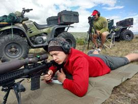 long range shooting in Wyoming