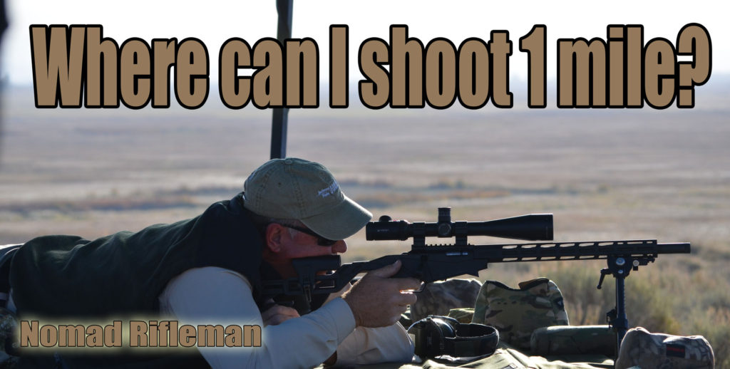 Where Can I Shoot 1 Mile?