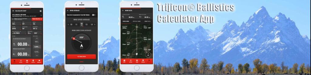 Trijicon® Ballistics Calculator App